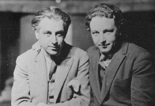 Abel Gance and Arthur Honegger.