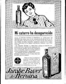 Ad for Bayer Syrup for Heroin
