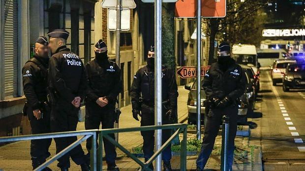 La Policía belga ha realizado registros en Bruselas durante toda la noche