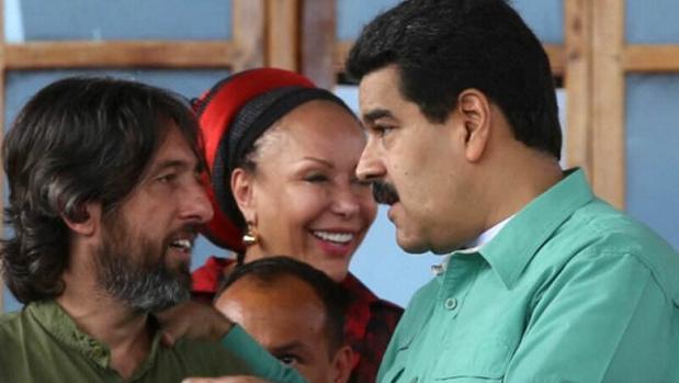 El gaditano Alfredo Serrano Mancilla, con el presidente venezolano, Nicolás Maduro