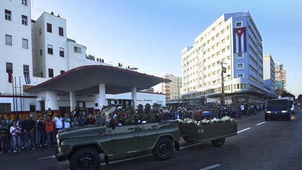 Las cenizas de Castro recorrerán 13 de las 15 provincias que forman la isla