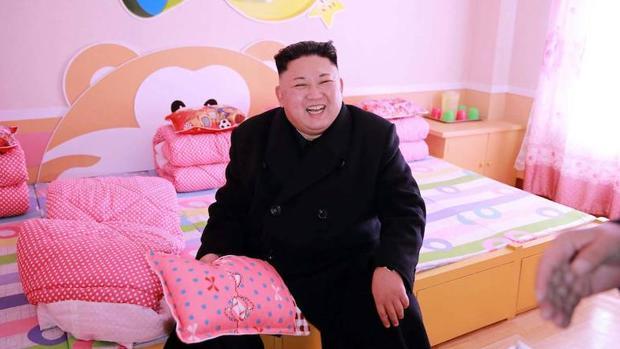 Kim Jong-un , actual dirigente de Corea del Norte