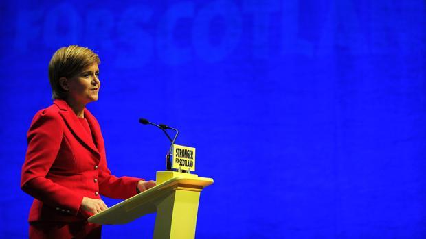 La primera ministra escocesa, la separatista Nicola Sturgeon