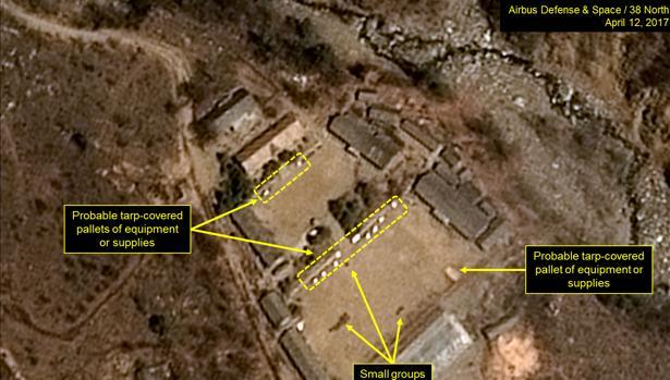 imagen del portal 38North que mostraría los planes de Corea del Norte