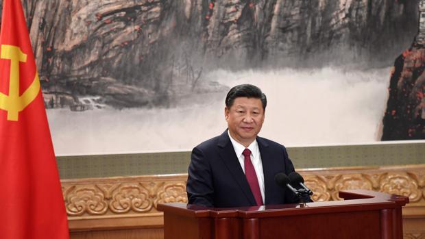 Xi Jinping, en un reciente discurso en el Gran Palacio del Pueblo en Pekín