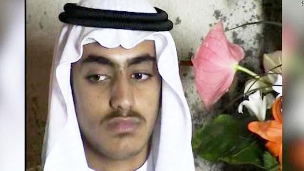 Imagen de Hamza Bin Laden difundida por la CIA hace unas semanas