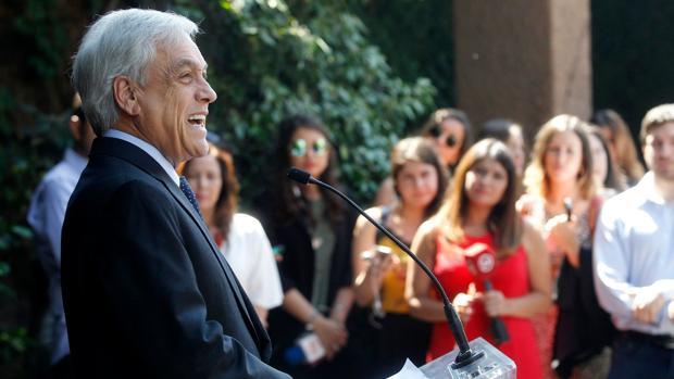 El reelegido Sebastián Piñera