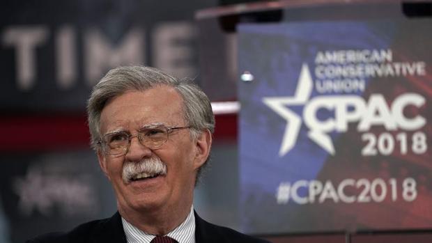 John Bolton, exembajador ante la ONU, durante una cumbre de los conservadores (CPAC) celebrada el pasado febrero en National Harbor (Maryland)