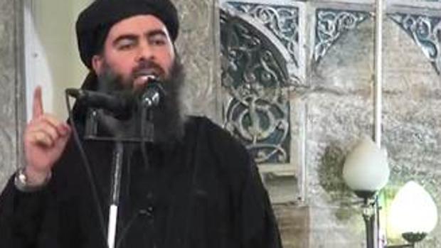 El líder de los yihadistas de Daesh, Abu Bakr Al Bagdadi
