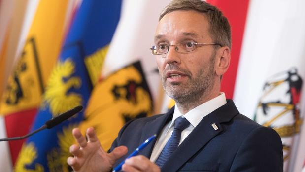 El ministro del Interior austriaco, el ultraderechista Herbert Kickl
