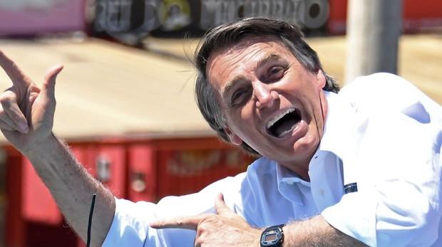 El ultraderechista Jair Bolsonaro, candidato a la presidencia de Brasil