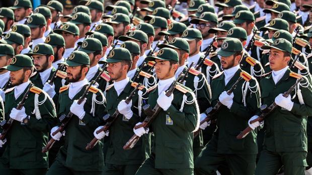 Desfile de la Guardia Revolucionaria en Teherán el sábado pasado