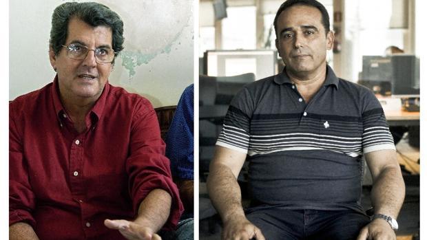 Oswaldo Payá y Eduardo Cardet, en imágenes de archivo