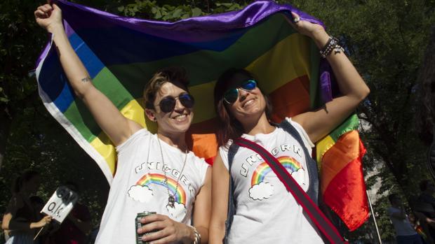 Celebración del Orgullo Gay en Madrid