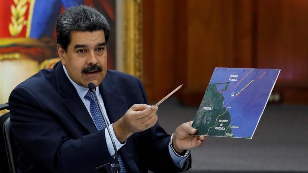 Nicolás Maduro, en una imagen tomada ayer en caracas