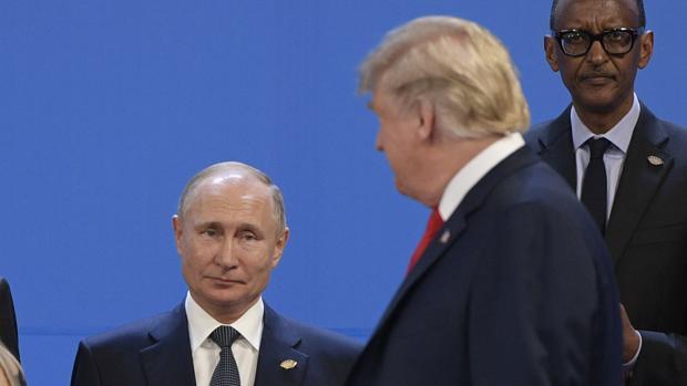 Donald Trump y Vladimir Putin, el pasado noviembre