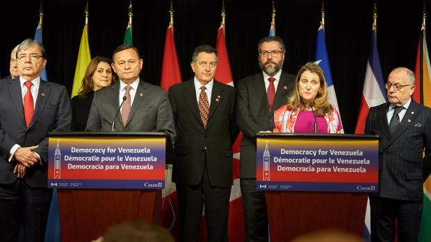 Reunión ministerial del Grupo de Lima este lunes en Ottawa