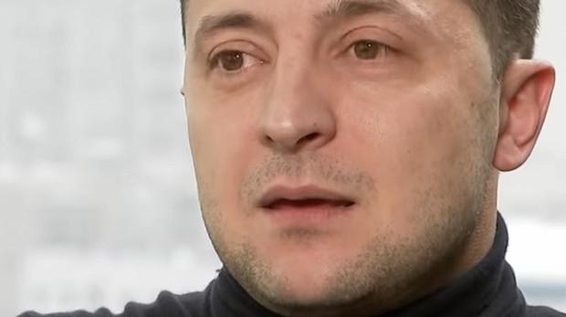 El cómico ucraniano Vladímir Zelenski