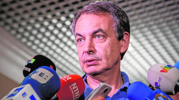 Rodríguez Zapatero, en uno de sus viajes a Caracas en julio de 2016