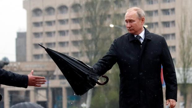 Vladimir Putin, la semana pasada en Kirguizistán