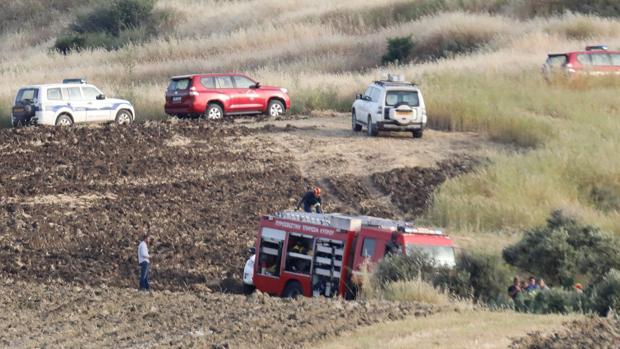 La policía investiga el área donde se descubrió el cadáver de una mujer cerca de Orounta (Chipre)