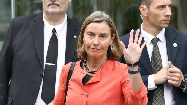 La responsable de la diplomacia europea, Federica Mogherini