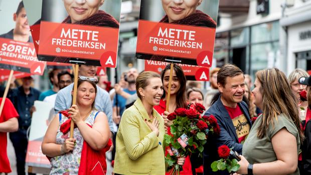 La social demócrata Mette Frederiksen