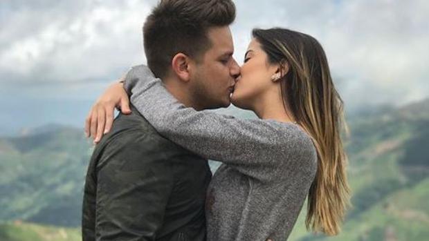 Omar Acedo y Daniela Cabello en Caracas