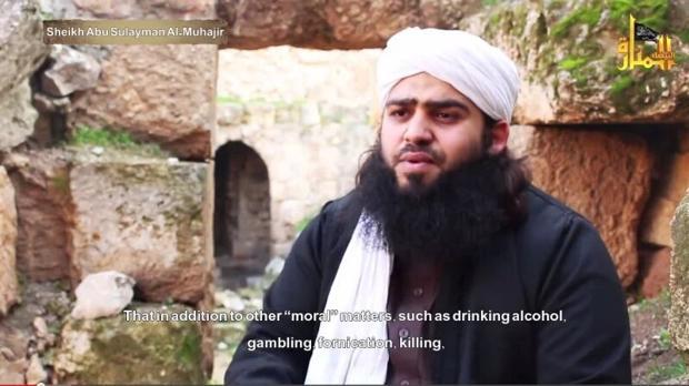 El líder del Daesh en Yemen, en un vídeo