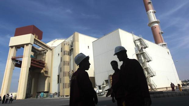 Una planta nuclear en el sur de Irán