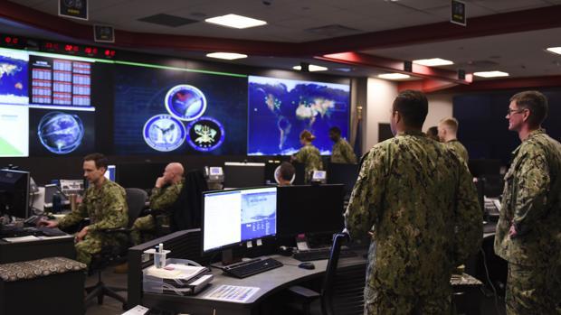 Cuartel general del Mando cibernético de EE.UU. en Fort George Meade, en Maryland, en imagen de archivo