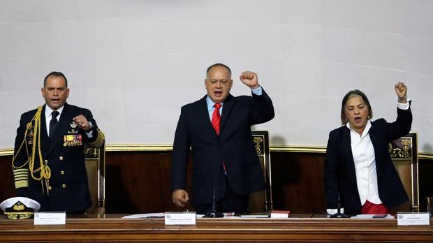 Diosdo Cabello en la Asamblea Nacional Constituyente de Venezuela