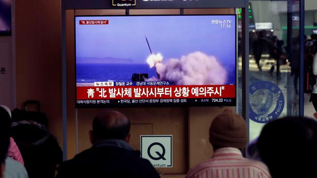 Corea del Norte realiza un nuevo lanzamiento de proyectiles, según Seúl