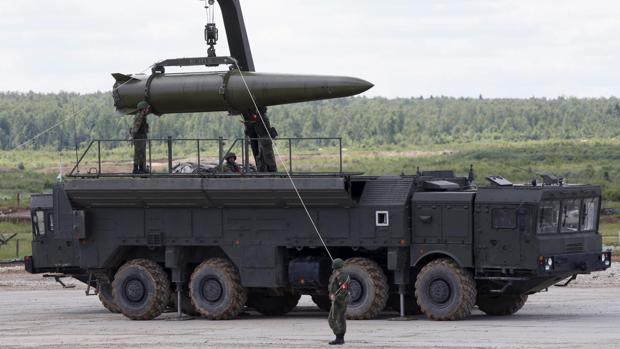 Misil Novator 9m729 (SSC 8), del ejercito de Rusia