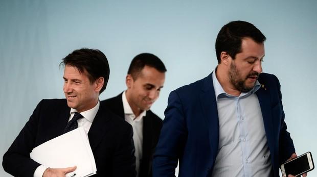 La Liga de Salvini lanza una moción de censura contra el primer ministro italiano