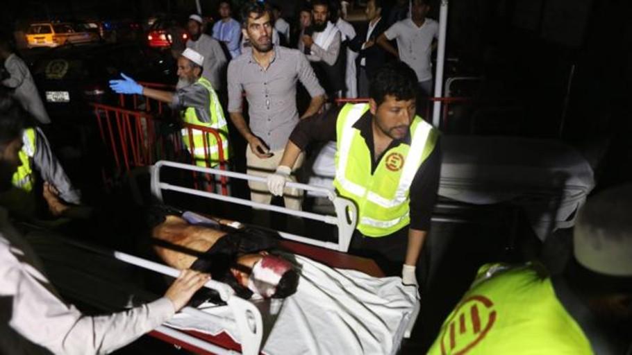 Varias víctimas en un atentado suicida contra un salón de bodas en Afganistán