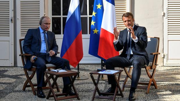 Putin, a Macron: «No queremos chalecos amarillos en Moscú»