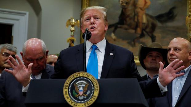 Trump considera «seriamente» acabar con el derecho a la ciudadanía por nacimiento