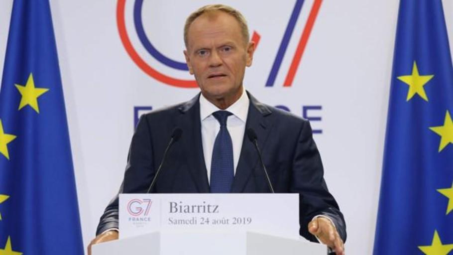 Tusk advierte: «Si Trump impone aranceles al vino francés, la UE responderá»