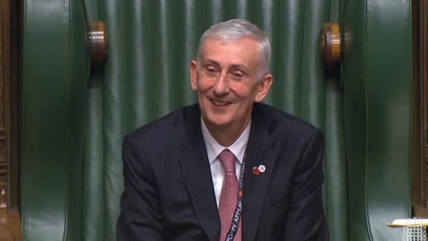 El laborista Hoyle sucede a Bercow como nuevo presidente de la Cámara de los Comunes