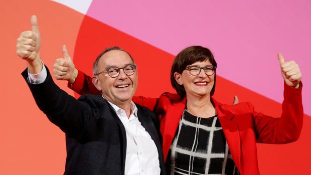 La gran coalición alemana, en el aire tras las primarias socialdemócratas