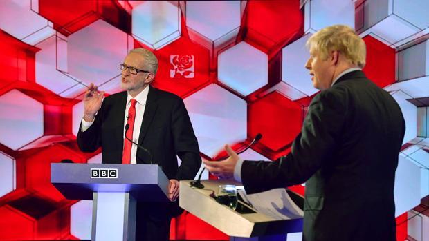 El cara a cara con Corbyn deja en el aire la mayoría absoluta para Boris Johnson