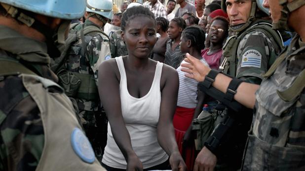 Haití: «Los cascos azules dejaron embarazadas a nuestras chicas y las dejaron en la miseria»