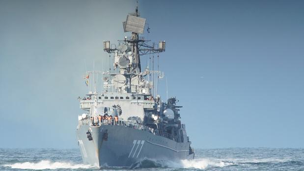 China, Rusia e Irán sacan músculo con unas maniobras militares en el golfo de Omán