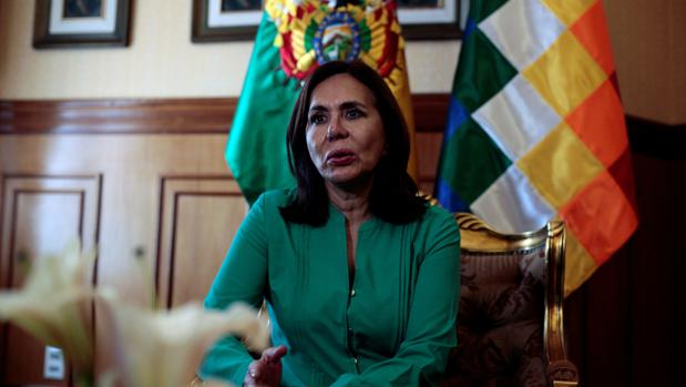 Karen Longaric, ministra de Exteriores de Bolivia en funciones