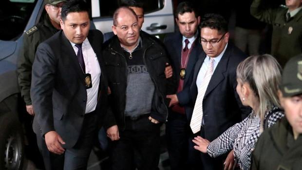 Un exministro de Evo Morales acaba ante la Justicia tras salir de un hospital