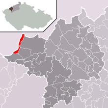 Ubicación de Vejprty