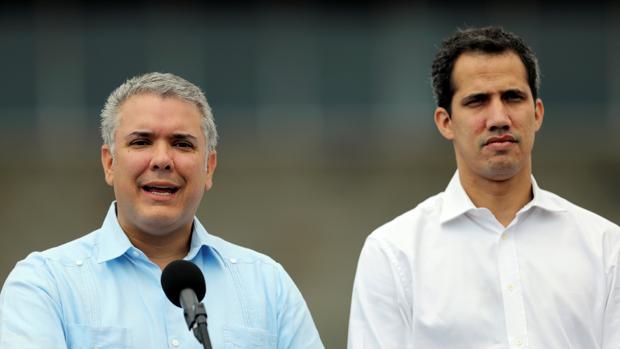 Guaidó desafía al régimen y llega a Colombia para reunirse con Mike Pompeo