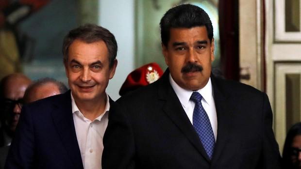 Lo que Zapatero calla sobre el régimen de Maduro