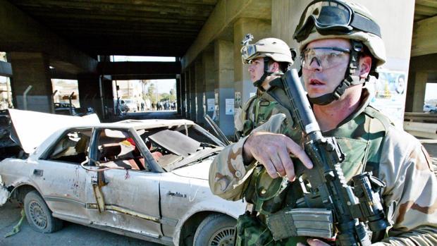 Al menos 50 soldados de EE.UU. diagnosticados con lesiones cerebrales por el ataque a las bases en Irak